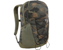 """The North Face Cryptic 15"""" Burnt Olive Green Waxed Camo 23L"""