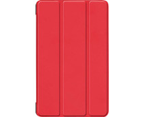 Just in Case Smart Tri-Fold Samsung Galaxy Tab S6 Book Rood