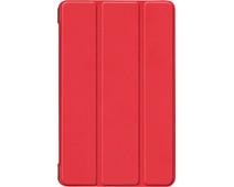 Just in Case Smart Tri-Fold Samsung Galaxy Tab A 8.0 (2019) Book Case Red