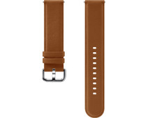 Samsung Galaxy Watch Active 2 Leather Strap Brown