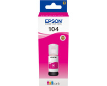 Epson 104 Ink Bottle Magenta