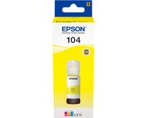 Epson 104 Ink Bottle Yellow