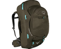 Osprey Fairview 55L Misty Grey - Slim Fit