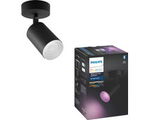Philips Hue Fugato Spot White & Color Bluetooth black
