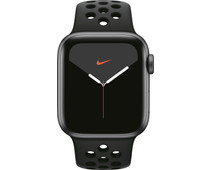Apple Watch Nike Series 5 40mm Space Gray Aluminium / Zwarte Sportband