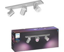Philips Hue Argenta 3-Spot White & Colour aluminium
