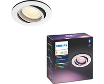 Philips Hue Centura Recessed Spot Light White & Color round white