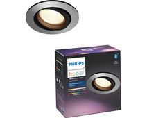 Philips Hue Centura Recessed Spot Light White & Color round aluminum