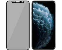 PanzerGlass Privacy Camslider iPhone X/Xs/11 Pro Screen Protector Glass Black