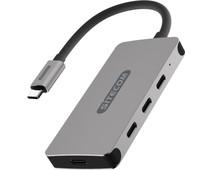 Sitecom USB-C to USB-C + PD Hub 4 Port 100W