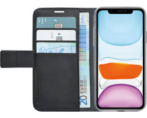 Azuri Wallet Apple iPhone 11 Book Case Zwart
