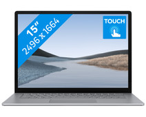"Microsoft Surface Laptop 3 15"" 8 GB - 128 GB Platinum"
