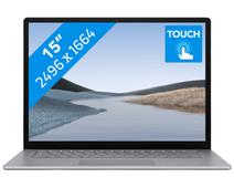 "Microsoft Surface Laptop 3 15"" 8 GB - 256 GB Platinum"