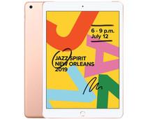 Refurbished iPad (2019) 128GB Wifi Goud