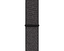 Apple Watch 38/40mm Nylon Sport Loop Nike Watch Strap Black