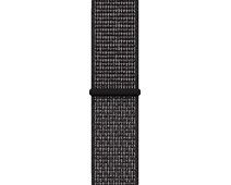 Apple Watch 42/44mm Nylon Sport Loop Nike Watch Strap Black