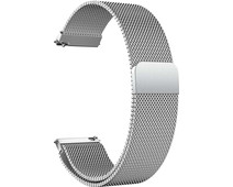 Just in Case Samsung Milanese Strap Silver 20mm