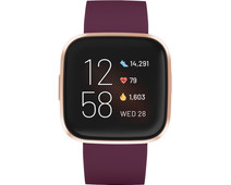 Fitbit Versa 2 Bordeauxrood