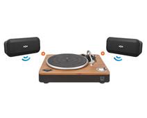 House of Marley Stir It Up Wireless + 2x No Bounds XL Zwart