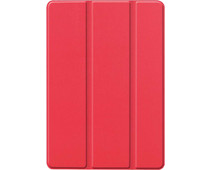 Just in Case Smart Tri-Fold Apple iPad (2020)/(2019) Book Case Rood