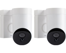 Somfy Outdoorcamera Wit Duo Pack