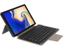 Gecko Covers Samsung Galaxy Tab A 10.5 Toetsenbord Hoes QWERTY Zwart