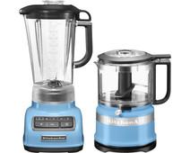 KitchenAid Diamond Blender Blue Velvet + Food Chopper