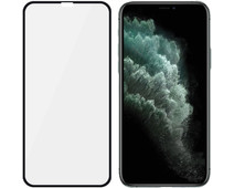 PanzerGlass Case Friendly iPhone Xs Max/11 Pro Max Screenprotector Glas Zwart