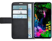 Azuri Wallet LG G8s ThinQ Book Case Zwart