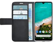 Azuri Wallet Xiaomi Mi A3 Book Case Zwart