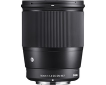 Sigma 16mm f/1.4 DC DN Contemporary Canon EF-M