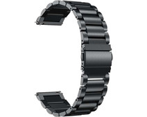 Just in Case Samsung Galaxy Watch Active2 RVS Bandje Zwart