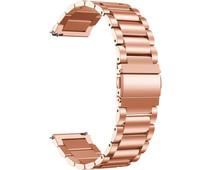 Just in Case Samsung Galaxy Watch Active2 RVS Bandje Rosé Goud