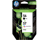 HP 56/57 Cartridge Black + Combo Pack 3 Colors (SA342AE)