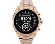Michael Kors Access Bradshaw Gen 5 MKT5089 - Rosé Goud met Diamantjes