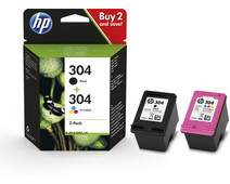 HP 304 Cartridges Combo Pack