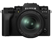 Fujifilm X-T4 Zwart + XF 16-80mm f/4 R OIS WR