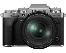 FUJIFILM X-T4 Zilver / XF16-80mm F4 R OIS WR Kit