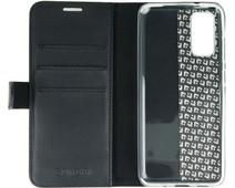 Valenta Classic Luxe Samsung Galaxy S20 Book Case Leer Zwart