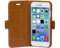 Dbramante1928 Copenhagen Slim Apple iPhone SE 2/8/7/6s/6 Book Case Leather Brown