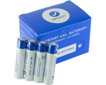 Veripart Alkaline AAA batteries 24 units