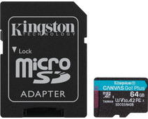 Kingston microSDXC Canvas Go Plus 64GB