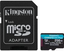 Kingston microSDXC Canvas Go Plus 256GB