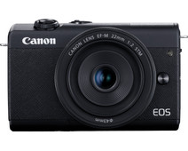 Canon EOS M200 Zwart + 15-45mm IS STM + 55-200mm IS STM