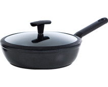 BK Easy Induction High-sided Skillet with Lid 24cm