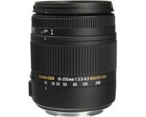 Sigma F 18-250mm f/3.5-6.3 DC Macro OS HSM Nikon