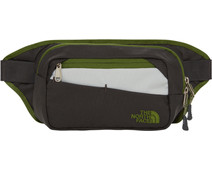 The North Face Bozer Hip Pack II Asphalt Gray / Garden Green