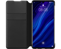 Huawei P30 Flip Cover Book Case Black