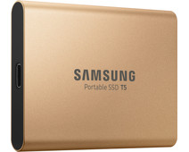 Samsung Portable SSD T5 500GB Gold