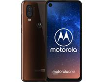 Motorola One Vision Brons